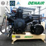 Faible bruit de moteur Diesel haute pression de la division Portable Air du compresseur à piston alternatif