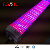 150cm LED impermeable Tri-Proof planta lineal aumentando la longitud de onda de luz