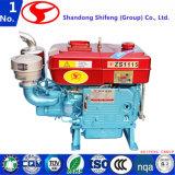 4개의 치기 공기에 의하여 냉각되는 디젤 엔진