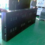 P10 en el exterior de doble cara de LED RGB de publicidad en vallas soporte de la pantalla LED de acceso frontal