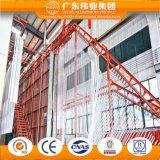 Profil grand de guichet en aluminium de qualité pour le guichet de tissu pour rideaux