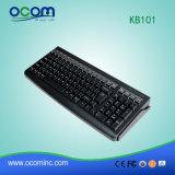 Kb101 POS Clavier 101 touches clavier programmable avec lecteur de carte