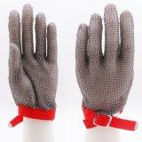 La sécurité en métal résistant aux coupures de gants de travail