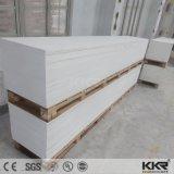 Superficie sólida de acrílico blanca como la nieve de Corian para Worktop