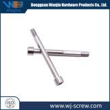 Custom banhado de alta precisão de aço carbono de zinco Branco Parafuso Longo