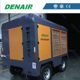 Compressore d'aria del motore elettrico di pressione 37-185kw sulle rotelle