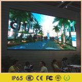 HD interno que anuncia a tela do diodo emissor de luz do indicador video