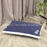 Haustier-Zubehör-blaues kleines Hundebett-Matratze-Katze-Bett-Kissen mit eingesäumtem Rand