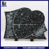 Масса синий гранит Headstone мемориал