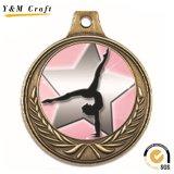 싼 관례 3D 춤 포상 금속 메달 (M012)