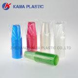 9 oz de plástico de cor branca