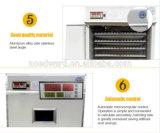 Le poulet 1584 automatique Eggs l'incubateur hachant la machine avec du CE reconnu
