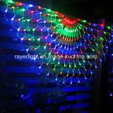 セリウム通りの装飾のための公認LEDの屋外のカーテンのネットライト