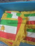 De Vlag van de Lijst van de Stof van de douane met Gevoelig Borduurwerk