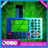 Übermäßig Tastfolientastatur-Panel mit Tast- und LCD-Fenster