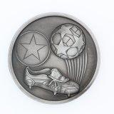 鋳造メダルはフットボールメダル金属のクラフトの金メダルを遊ばす