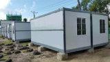 Casa prefabricada del bachillerato/prefabricada móvil incombustible plegable moderna del envase de la casa para la venta caliente