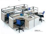 Les stations de travail de bureau Mobilier de bureau avec tiroirs CPU Panier