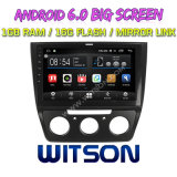 "Witson gran pantalla de 10,2"" de Android 6.0 alquiler de DVD para Volkswagen Yeti"