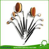 9 PC brosse à dents de Golf de forme ovale ensemble de la brosse de maquillage Poudre Pro Foundation