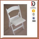 白い高品質の折る樹脂の結婚式のウィンブルドンの椅子
