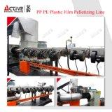 Ligne en plastique de pelletisation de granule de film de PE de pp