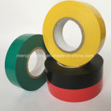 Schwarzes elektrisches Isolierungs-Klebstreifen Belüftung-Vinyl 19mmx10m