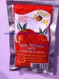 Eingemachtes Tomatenkonzentrat Brix 28-30% mit einfachen geöffneten Kappen