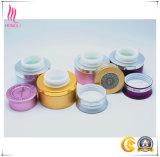 중국 공장에서 사기그릇 크림 단지의 각종 색깔