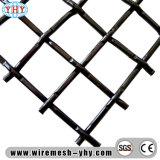 Frantoio per pietre che vibra la doppia rete metallica d'acciaio ad alto tenore di carbonio dello schermo della piegatura