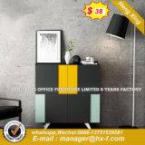 Le noyer noir 6 tiroirs du socle de la table de forme de L'Office (HX-8E9433)