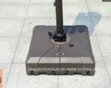 Aluminiumlegierung-im Freienmöbel-Garten-Rom-Regenschirm mit Wasser-Unterseite