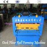 기계를 형성하는 기와 지면 도와 회전 색깔 강철 지면 갑판 롤