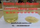 70% com base vegetal Aminoácidos livres em pó para adubos agrícolas, 100% solúvel em água