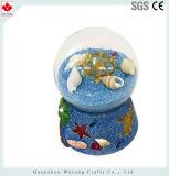 Holiday Resina Decoração Loja Globo de neve água colorida Itens de Esferas