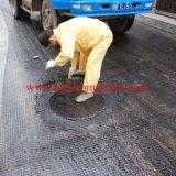 Recubierto de betún de geomalla de fibra de vidrio para refuerzo de asfalto