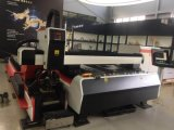 Machine de découpage de laser de fibre de feuillard et de tube de bonne qualité utilisée dans le matériel agricole