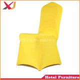 Pano da tampa da cadeira do banquete do Spandex do poliéster do casamento do restaurante do hotel