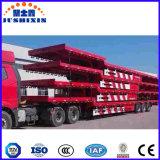 3 rimorchio basso del camion pesante della base degli assi 80t semi