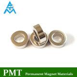N38 Magneet van het Neodymium van de Ring van D15xd8X5 de Magnetische Kleine met Permanent Materiaal