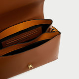 Nuova borsa della giovane signora progettista di modo della maniglia del metallo di arrivo