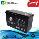 nachladbare gedichtete saure Solarspeicherbatterie des Leitungskabel-12V7ah