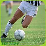 Para o futebol de relva artificial com forma de S