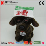 승진 선물 견면 벨벳 박제 동물 아이를 위한 연약한 장난감 개