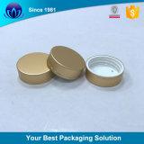 De gouden Schroefdoppen van het Aluminium voor de Kosmetische Kruiken van de Room