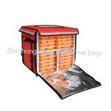 Профессиональные изолированный тепловой охладителя доставки продовольствия мешке велосипеда с подвесным двигателем