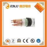 Retardante de chama com isolamento de PVC flexível de fio de cobre