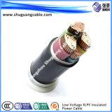 Smoke/PVC inférieur Insulated/PVC a engainé/câble entièrement examiné/instrumentation