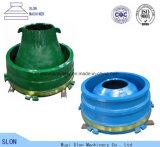 Nordberg Metso G1811 Kegel-Zerkleinerungsmaschine-Filterglocke-Zwischenlage, Umhang und konkaves