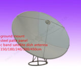 4 6 8 10 12 16feet 1.5 1.8 2.4 3 3.7 4 5 6m 300cm C Parabolisches Paraboloid-im Freienteller-Antenne Band-Satellitenfaser-Eisen-Stahlplatte Fernsehapparat-Digital HD GPS G/M